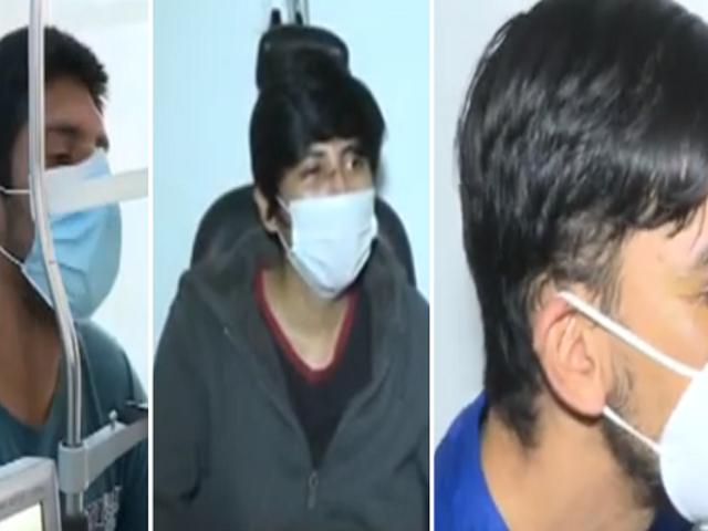 Tres jóvenes con graves lesiones en la vista tras participar en las manifestaciones