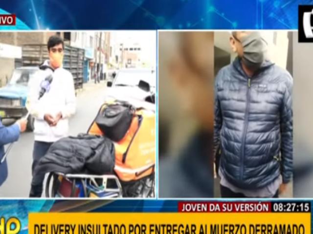 Habla repartidor que fue víctima de atroz maltrato en Miraflores