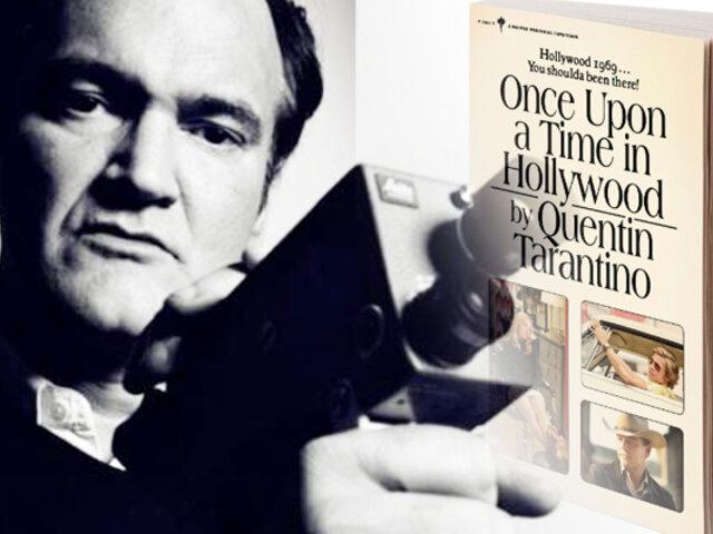Quentin Tarantino debuta como escritor con dos publicaciones