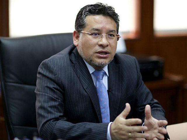 Rubén Vargas renuncia a su cargo de ministro del Interior