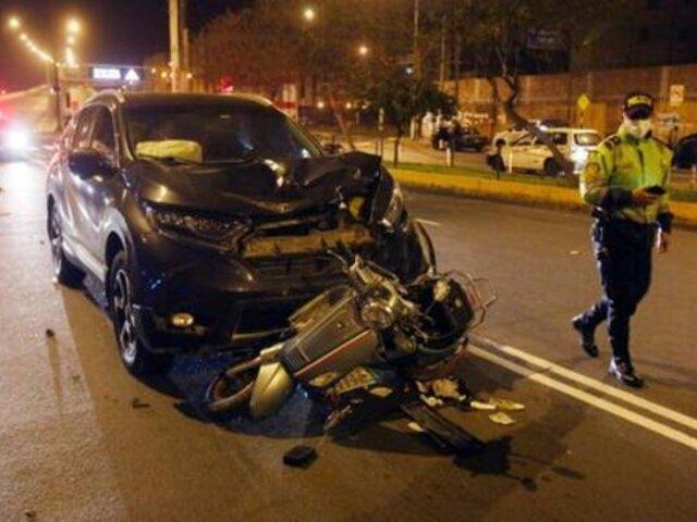 Rímac: familiares denuncian que liberan a chófer que embistió y mató a motociclista
