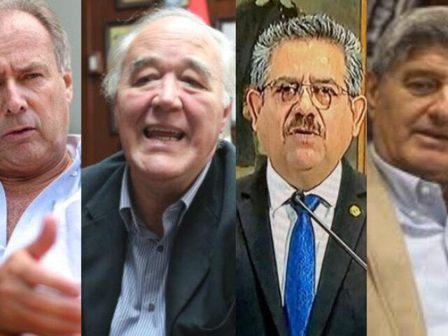 Bases de Acción Popular exigen expulsión de Barnechea, García Belaúnde, Merino y Diez Canseco