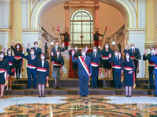Gabinete Bermúdez está integrado por profesionales prestigiosos, indican especialistas
