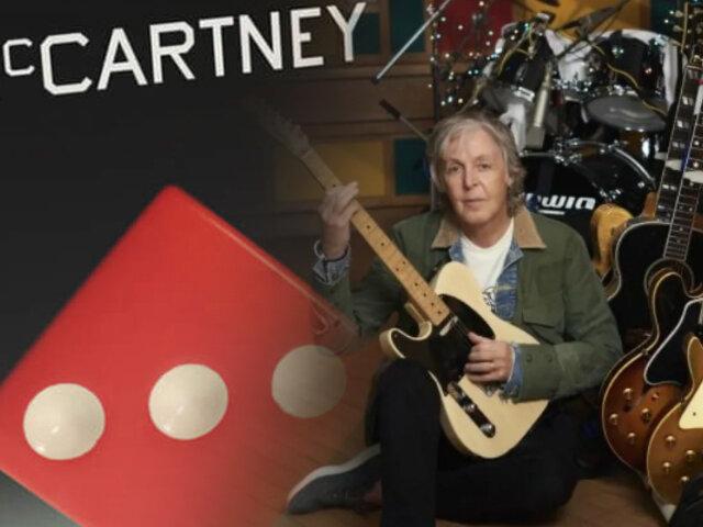Paul McCartney completa trilogía con nuevo álbum