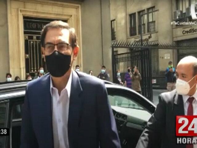 Caso Obrainsa: Martín Vizcarra declara este jueves ante Fiscalía