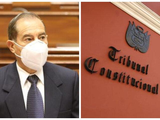 """Walter Martos al TC: """"Dejan en grave riesgo la gobernabilidad y estabilidad política del país"""""""