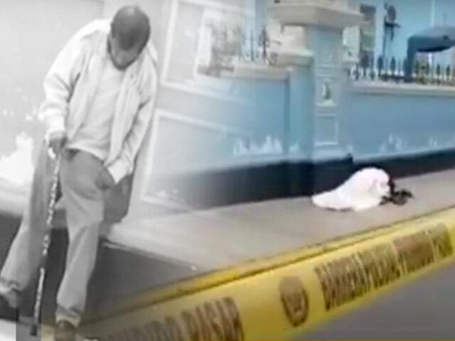 Trujillo adulto mayor muere en puerta de hospital