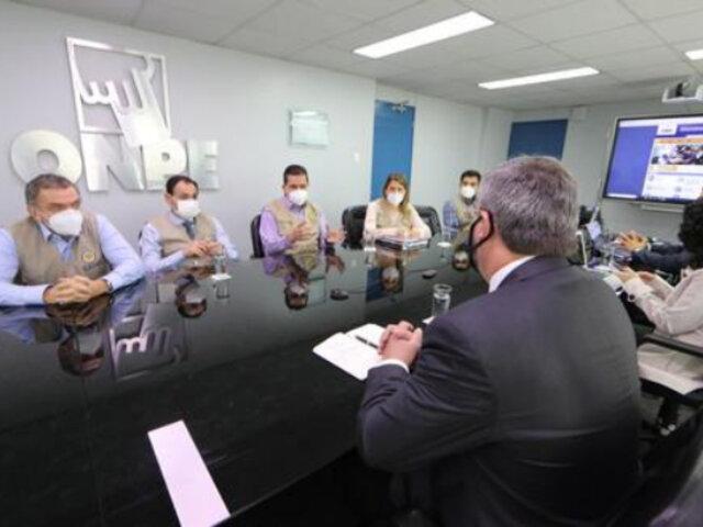 ONPE y Reniec reafirman a misión de observadores de la OEA realización de elecciones en abril 2021
