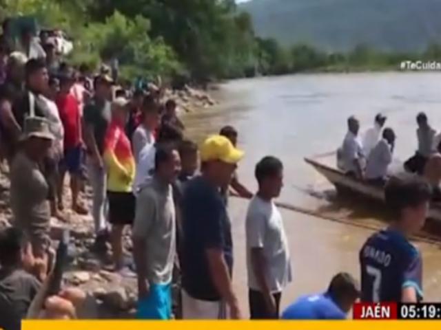 Jaén: Rescataron cuerpos de 5 fallecidos tras caída de auto a río