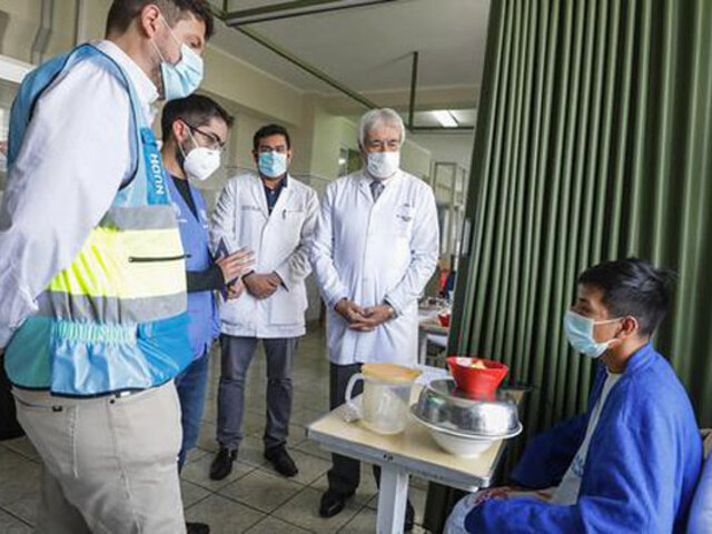 Comisión de la ONU recorrió hospitales para conocer situación de heridos en protestas