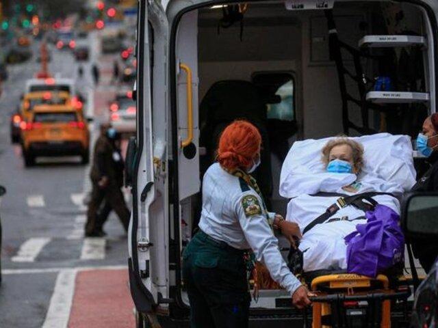 EE.UU registró más de 200 mil casos por COVID-19 en un solo día