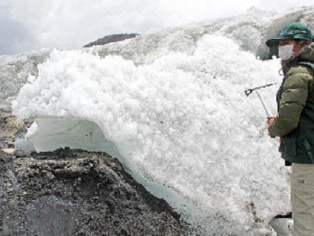 Cusco: alarma por rápido retroceso de dos importantes glaciares de la cordillera Vilcanota