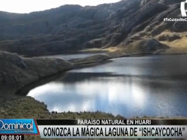 Paraíso natural en Huari: Conozca la majestuosa laguna de Ishcaycocha
