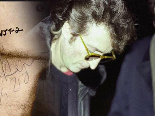 John Lennon: subastan el disco que le dedicó firmado a su asesino
