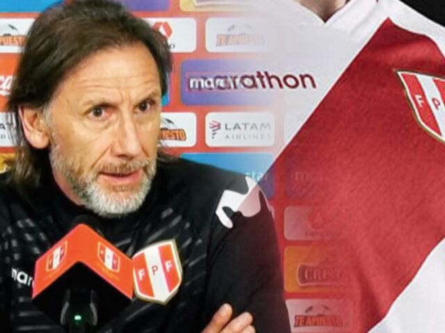 Ricardo Gareca reforzará trabajo psicológico en la Selección Peruana