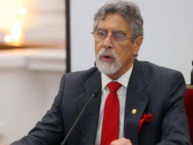 Partido Morado declaró improcedente renuncia de Francisco Sagasti
