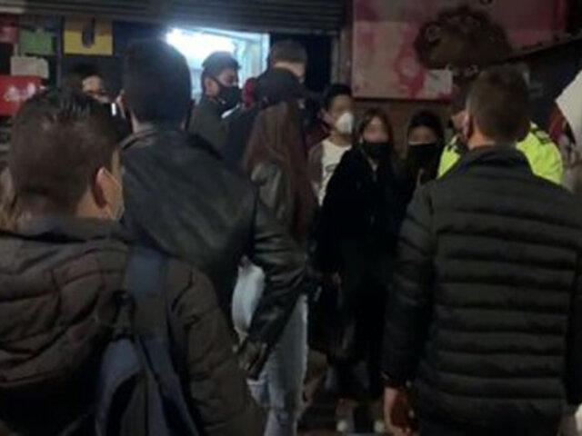 Pueblo Libre: intervienen casas donde realizaban fiestas durante toque de queda