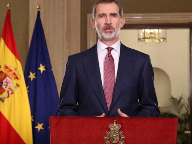 España: Rey Felipe VI en cuarentena por contacto con un caso positivo de Covid-19