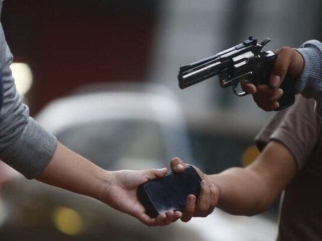 Surco: delincuente llora mientras lo trasladaban a comisaría tras robar celular