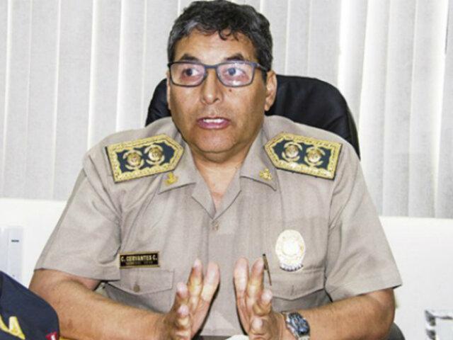 Presidente Sagasti nombra al general César Cervantes como nuevo comandante de la PNP