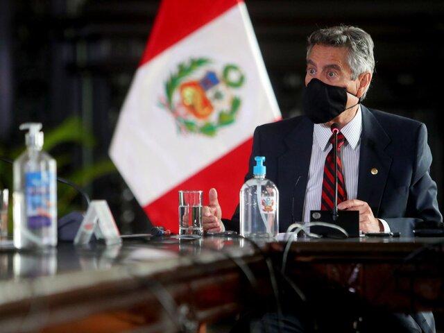 Francisco Sagasti iniciará reuniones con líderes de partidos con representación en Congreso