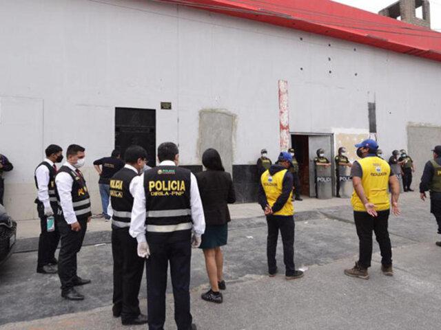 Independencia: Fiscalía interviene local 'La Anaconda' que funcionaba como prostíbulo