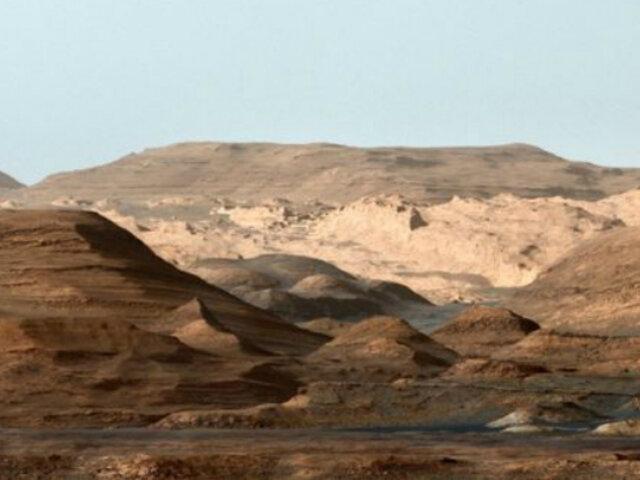 Inundaciones en Marte: el rover Curiosity de la NASA encuentra evidencias de ello