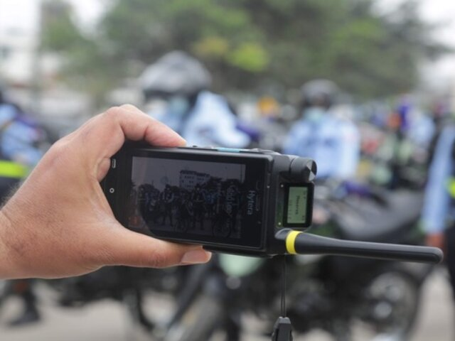 Municipio de San Isidro adquirió 90 radios con tecnología de transmisión de video