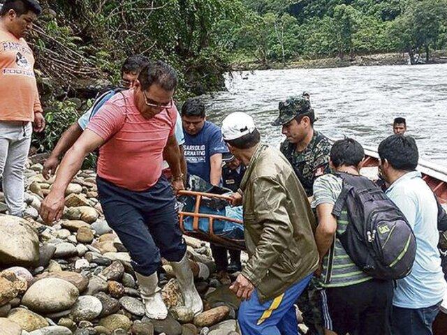 Puno: seis fallecidos y dos heridos dejó despiste de cúster a río Inambari