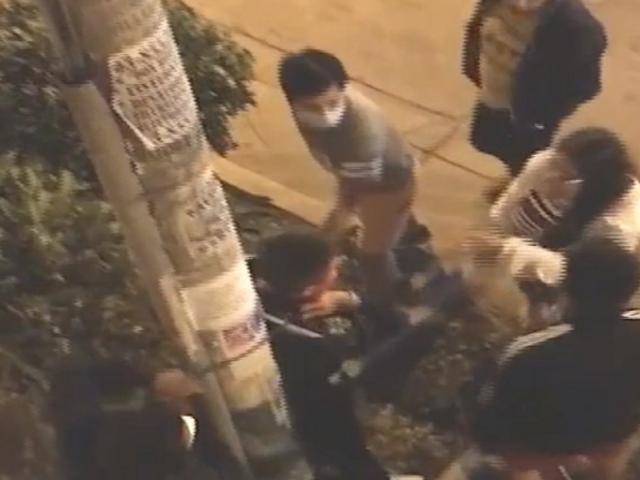 Los Olivos: vecinos cansados de la delincuencia atrapan a ladrón e intentan lincharlo