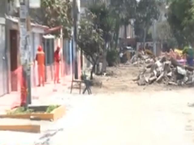 Cercado de Lima: vecinos denuncian destrucción de veredas por construcción de ciclovía