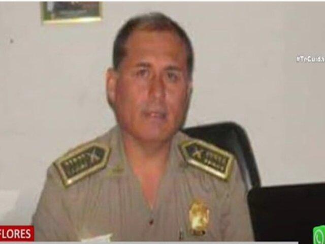 Miraflores: Mujer denuncia que su esposo, un coronel de la Policía, intentó ahorcarla