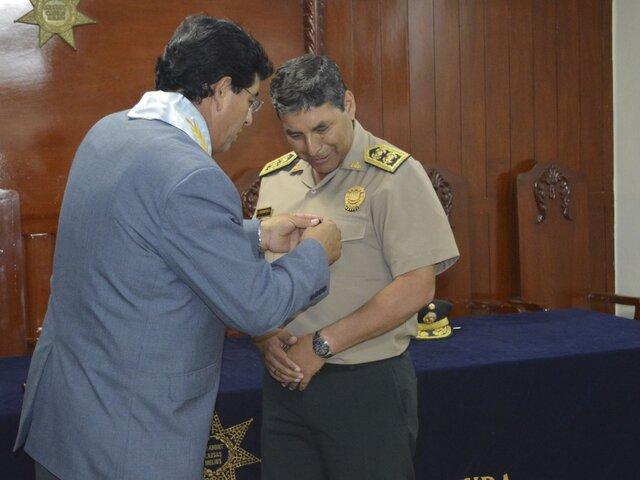 Oficializan designación de César Cervantes como comandante general PNP