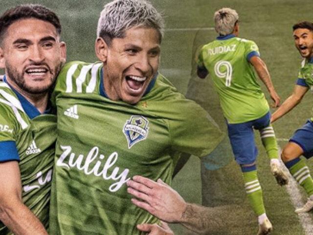 Ruidíaz anota y mete al Seattle Sounders a semifinales de la MLS