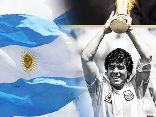 Argentina decretó tres días de duelo por la muerte de Diego Maradona