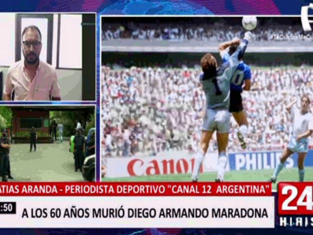 """Matías Aranda: """"Maradona era el más argentino de los argentinos"""""""
