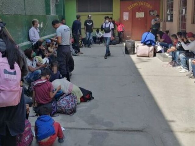 Tumbes: PNP detuvo a decenas de extranjeros que trataron de entrar ilegalmente al país