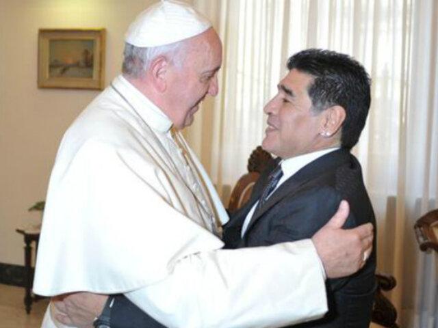 Diego Maradona: Papa Francisco lo recuerda con afecto y está presente en sus oraciones