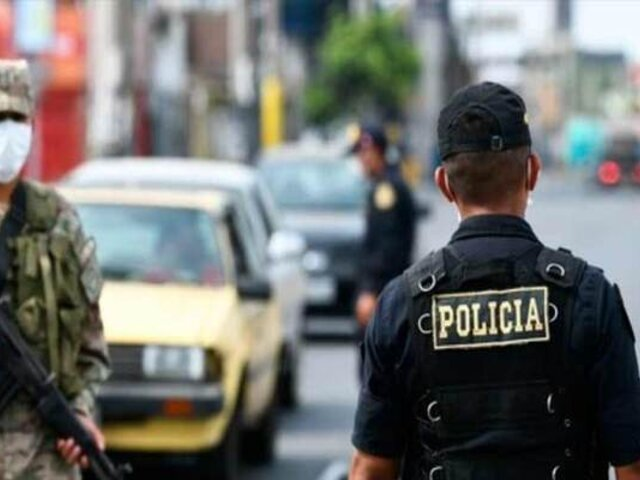10 mil policías y 4 mil militares resguardarán Lima y Callao durante fiestas