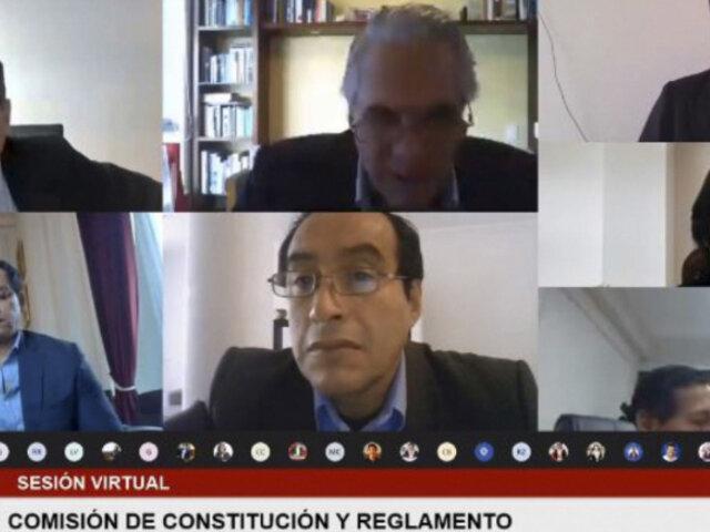 Pensión vitalicia para expresidentes: Comisión de Constitución aprueba eliminar beneficio