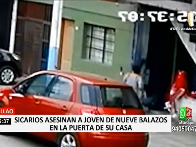 Callao: sicarios asesinan a joven de nueve balazos en la puerta de su casa