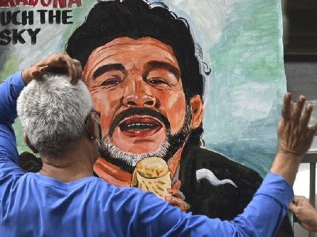 Fútbol argentino decretó siete días de luto por el fallecimiento de Diego Maradona