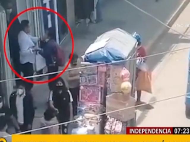Indignación en Independencia por presunta agresión de teniente alcalde a mujer