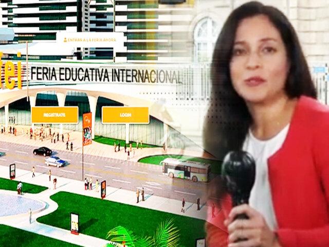 ¡Que tu educación no se detenga! Participa en la Feria Educativa Perú