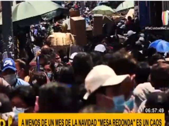 Mesa Redonda: caos, mafias y pandemia a menos de un mes de Navidad