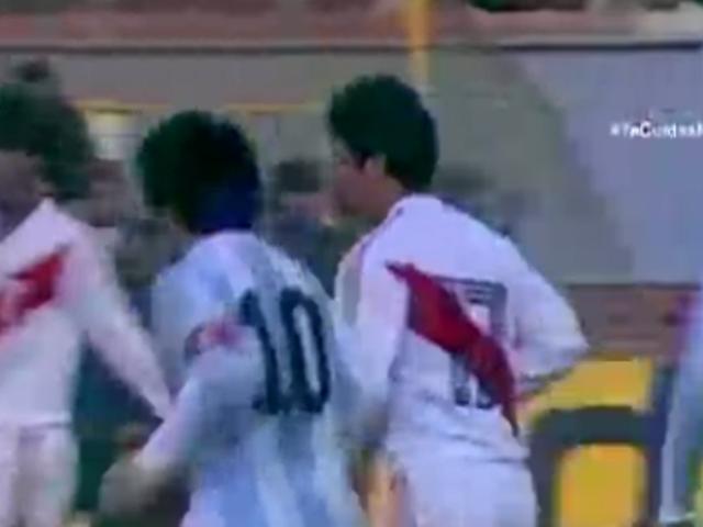 Maradona: el día en que un peruano anuló la magia del 'Diego'