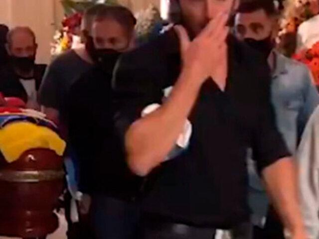Diego Maradona: retiran féretro con sus restos tras incidentes en la Casa Rosada