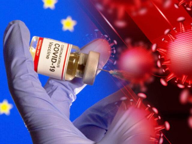Primeras vacunas llegarían para Navidad a Europa, según la UE