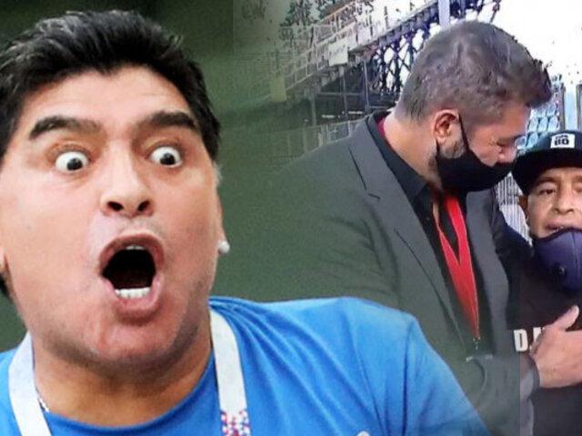 Maradona y su destructivo estilo de vida