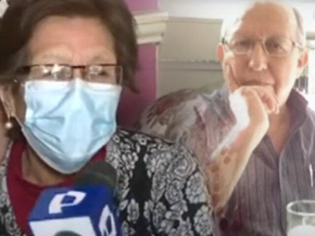 Anciana de 87 años  la pasa mal por inquilino moroso